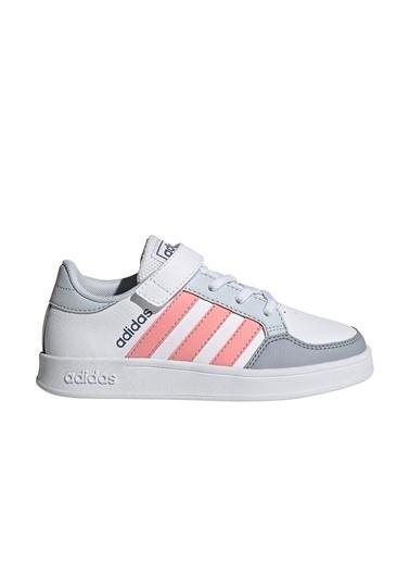 adidas Breaknet C Kız Çocuk Sneaker Beyaz